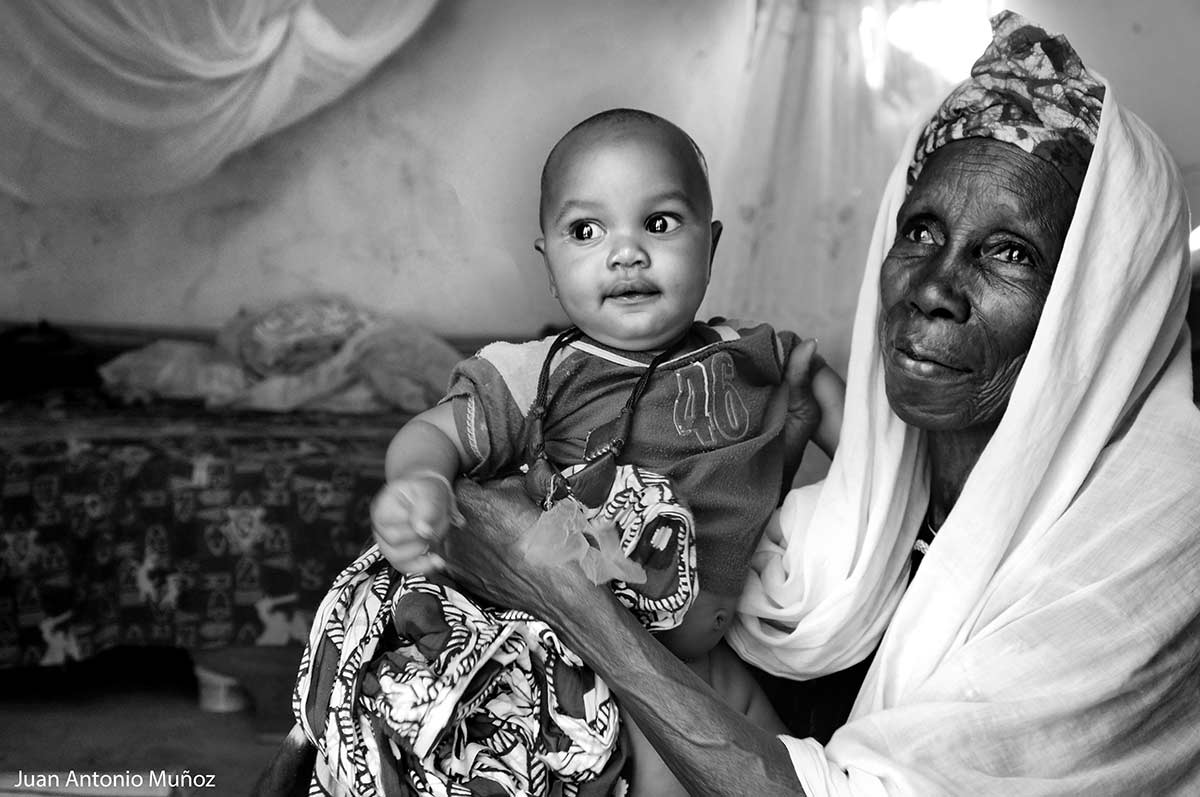 Abuela en Senegal