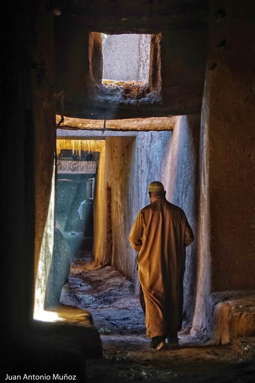 Aldea del sur del Draa Marruecos
