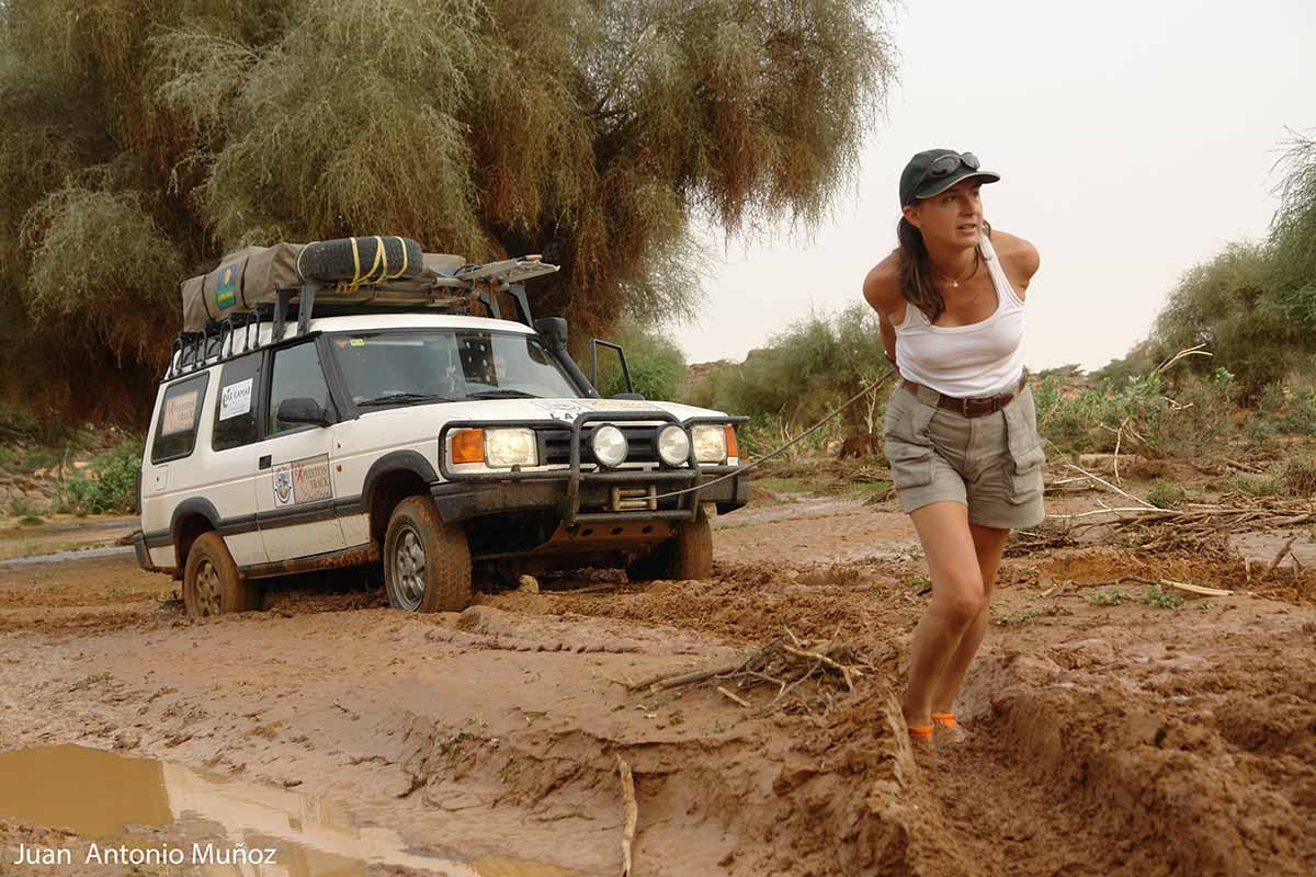 Atasco en Mauritania