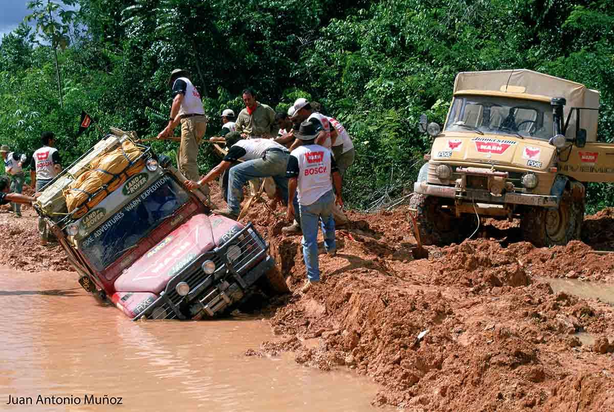 Atrapados en el Amazonas