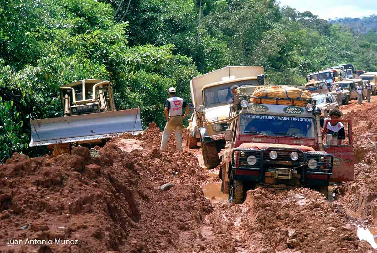 Barro en el Amazonas