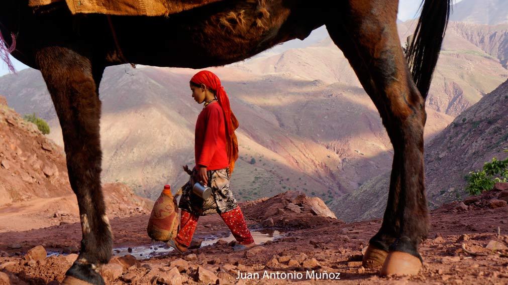Bereber Atlas Marruecos