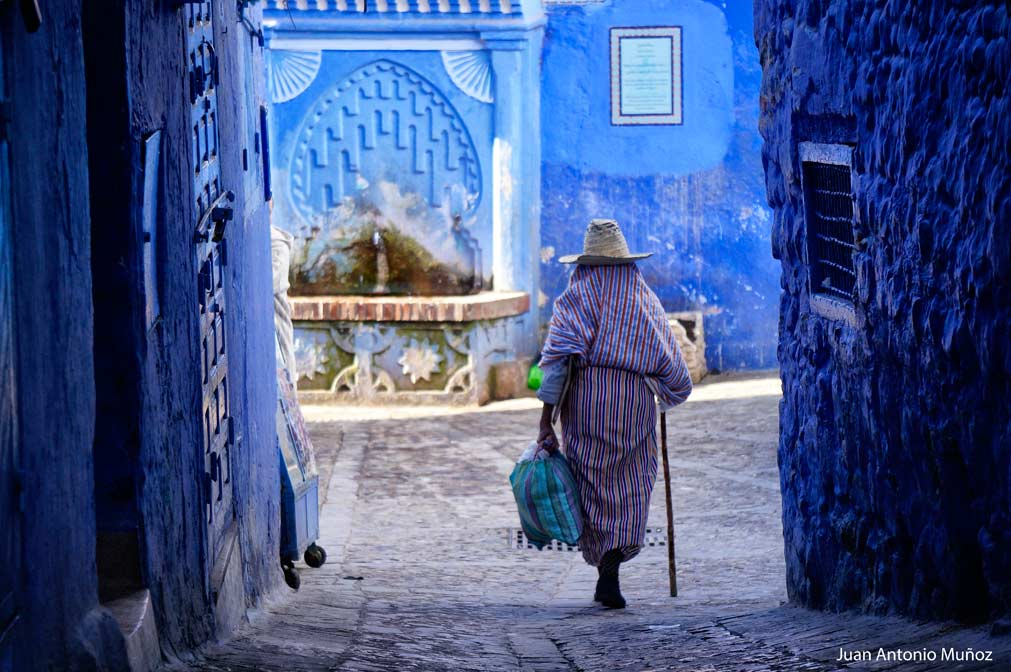 Calle de Chaouen Marruecos