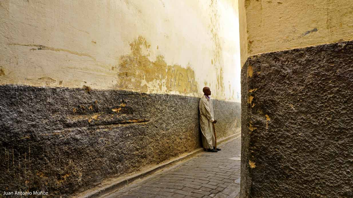 Calle de Fez Marruecos