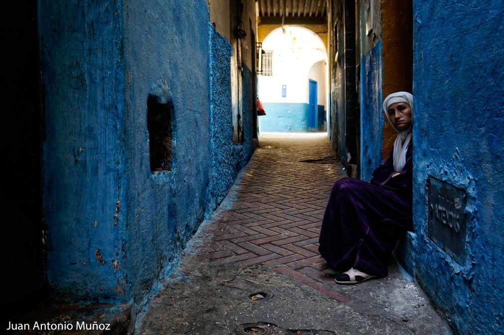 Calle de Tanger Marruecos