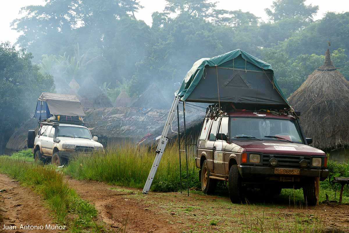 Camp en Guinea