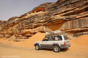 Cascadas de arena Mauritania