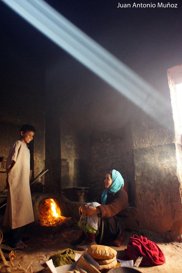 Cocina cerca de Agdz Marruecos