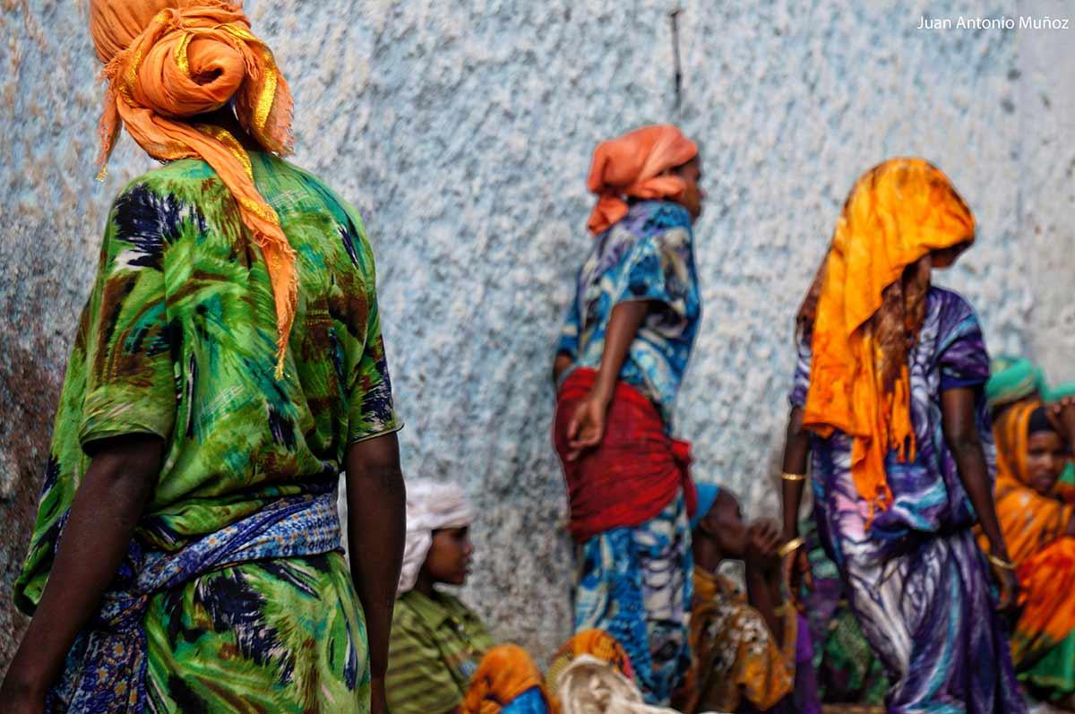 Colores de Harare Etiopía