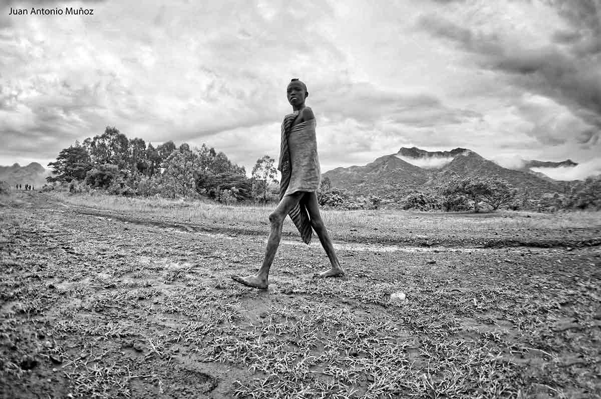 Desnutricion en Kibish Etiopía