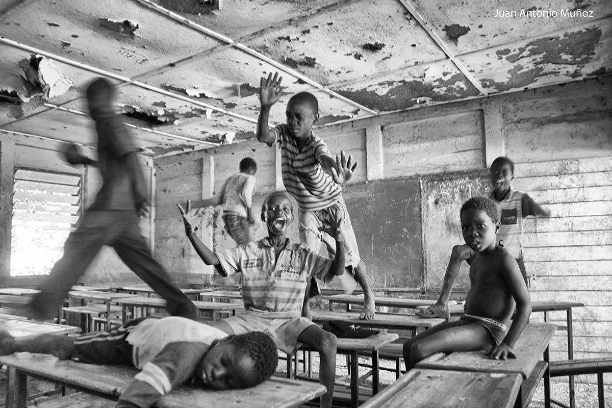 Desorden en el aula Etiopía