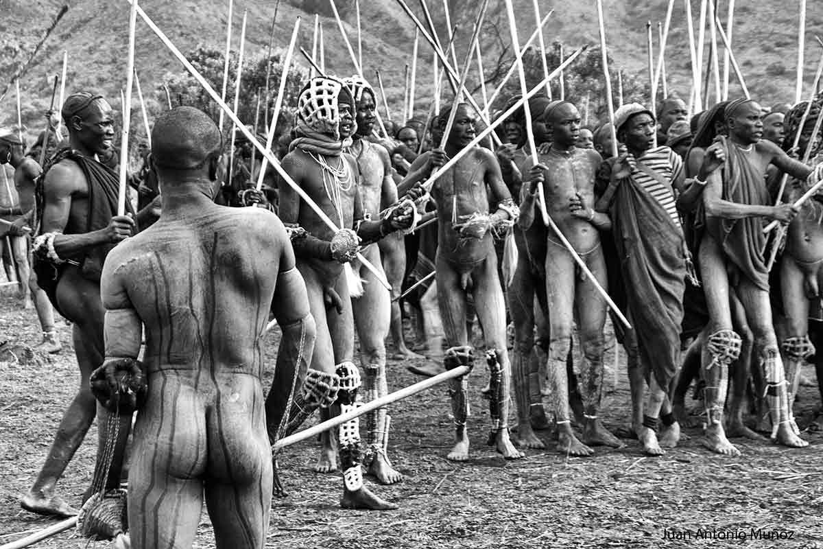 Donga Surma Etiopía