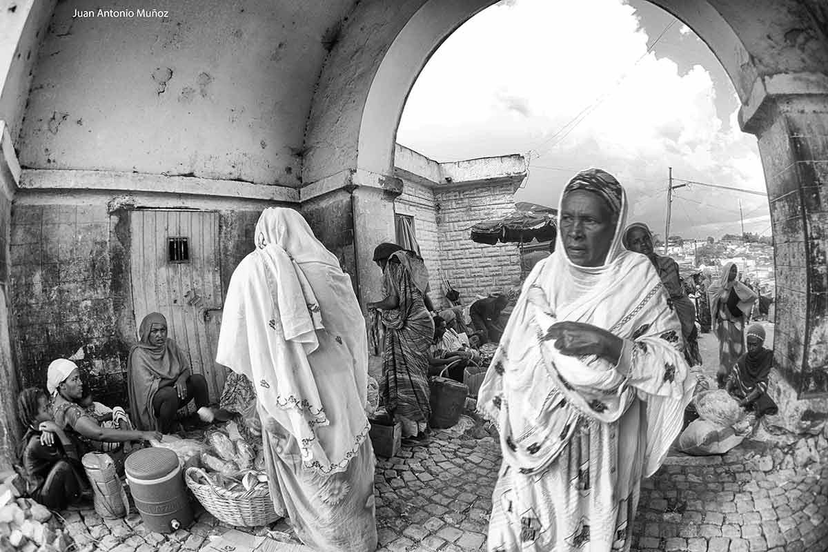 Mercado Harare Etiopía