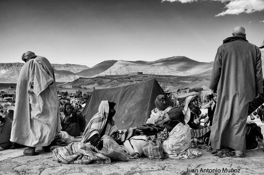 Mercado Imilchil Marruecos