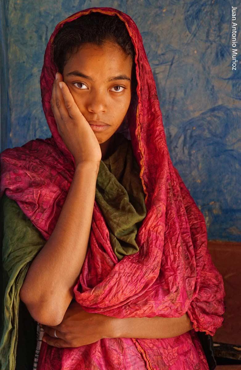 Mujer de Tamnougalt Marruecos