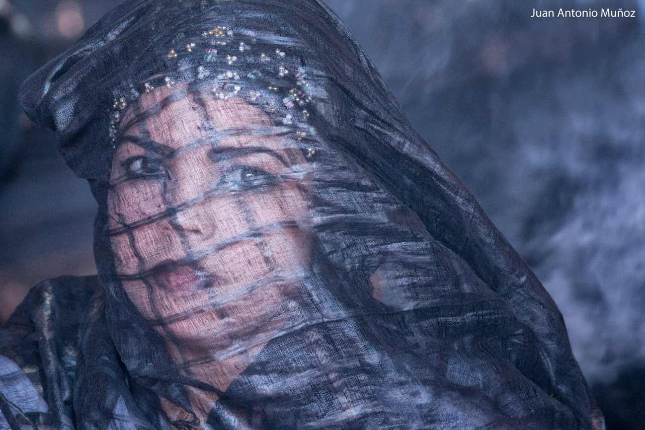 Mujer saharaui Marruecos