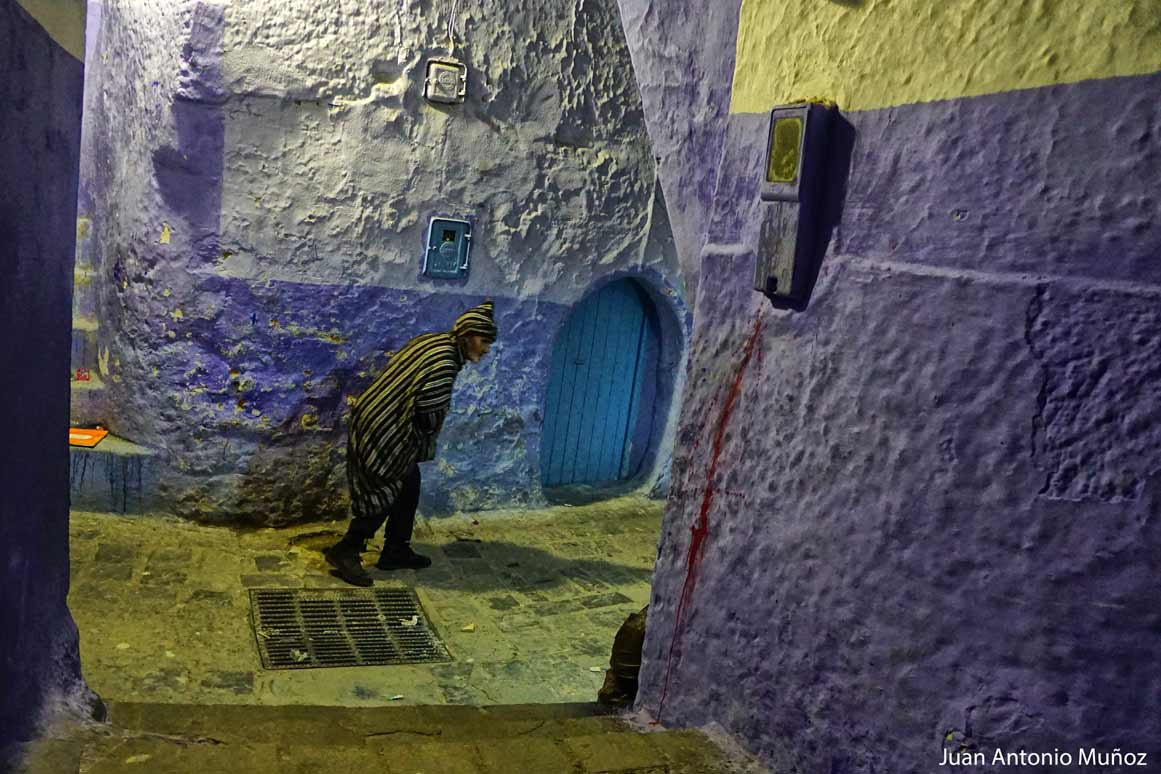 Noche en Chaouen Marruecos