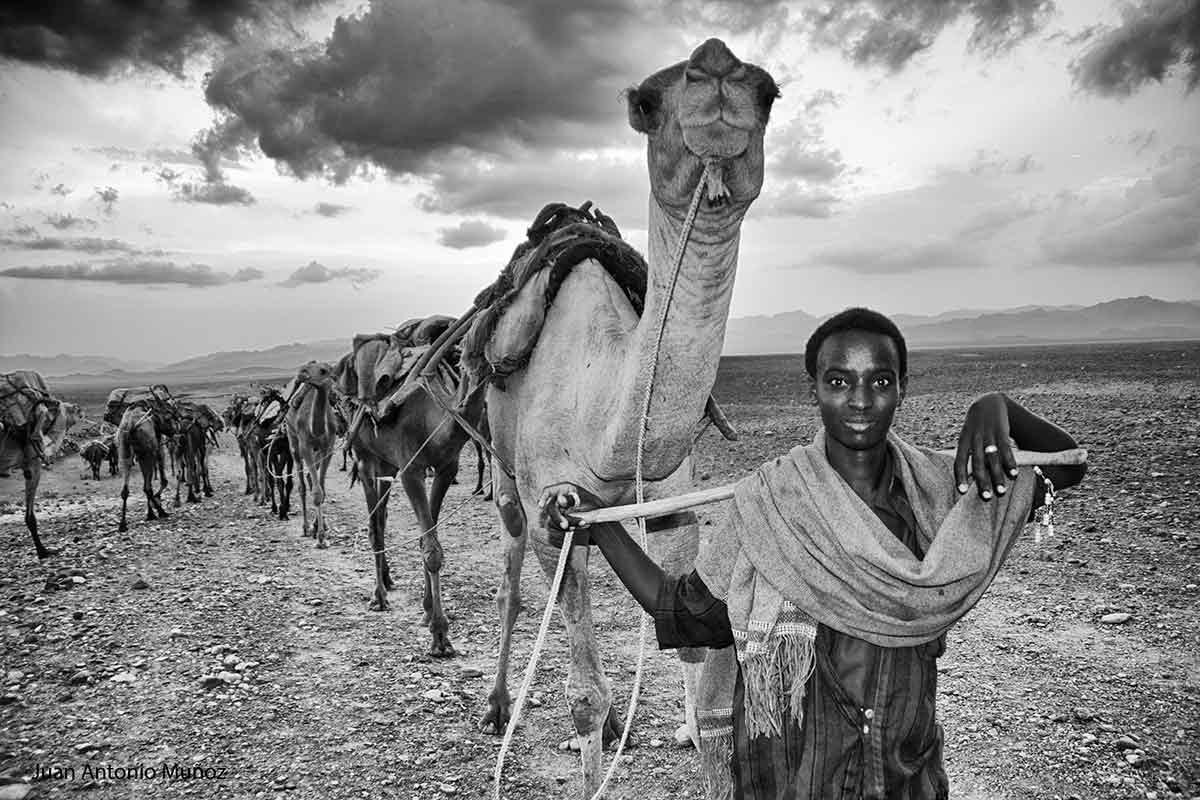Nomada Afar Etiopía