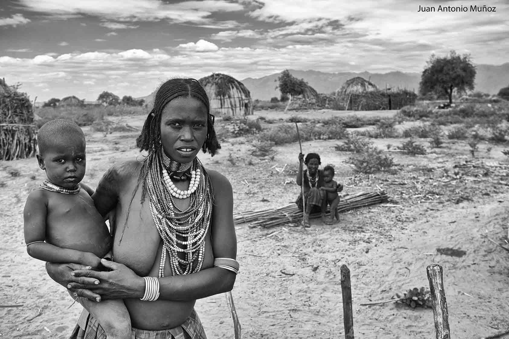 Norte lago Turkana Etiopía
