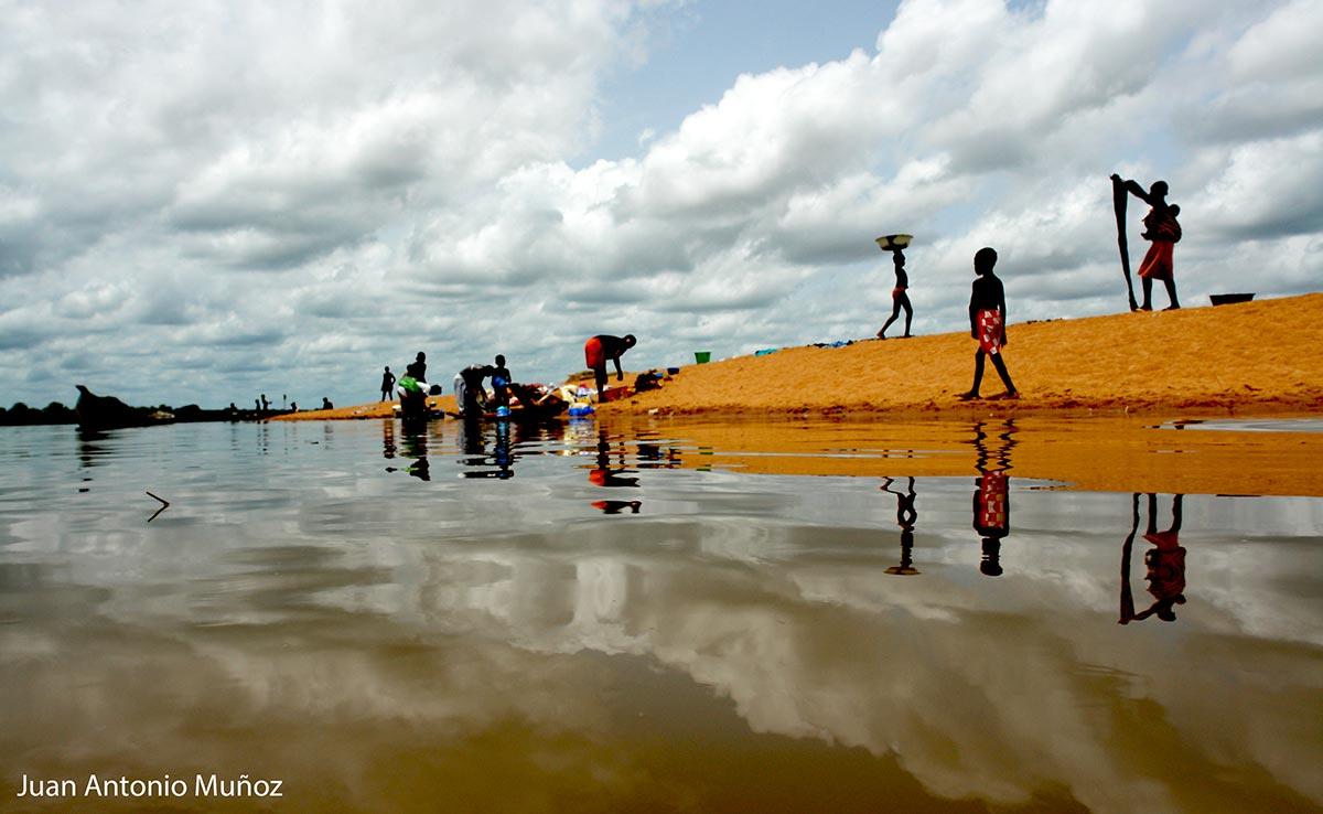 Orillas del Niger