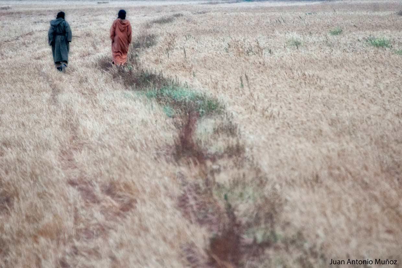 Paseando en Goulimine Marruecos