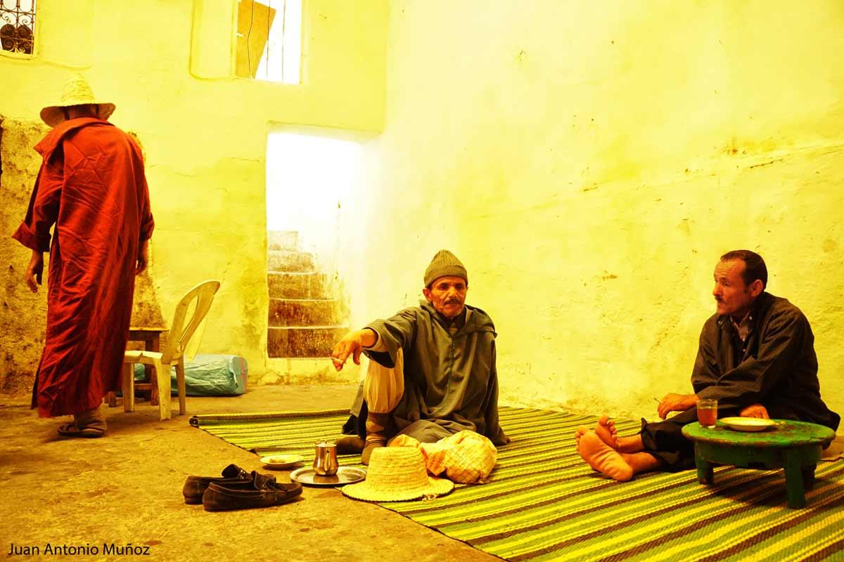 Té en Marrakech Marruecos