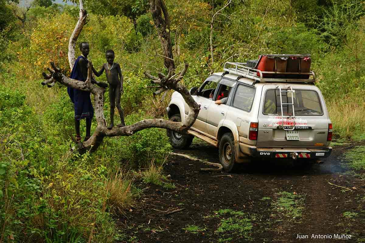 Territorio Surma Etiopia