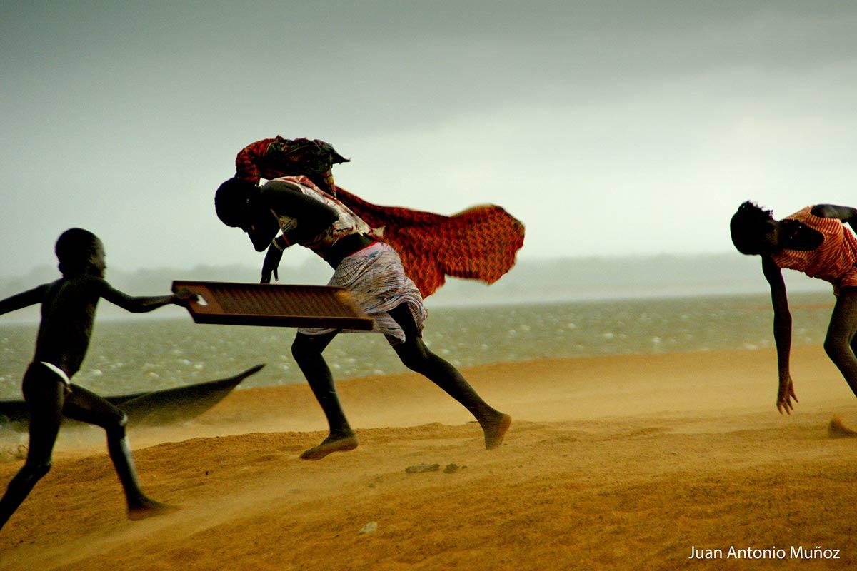 Tormenta en Guinea Conakry