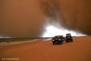 Tormenta en Nouakchot