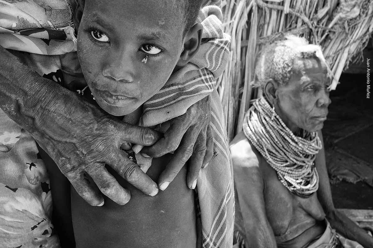 Abuela turkana Kenia