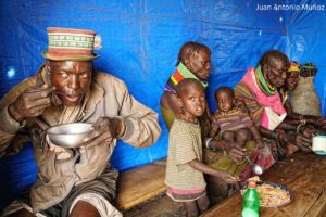 Almuerzo Turkana Kenia