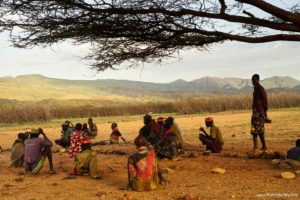 Bajo el arbol Kenia