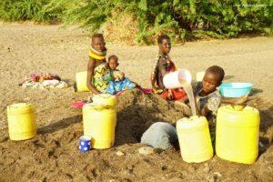 Bidones amarillos Kenia