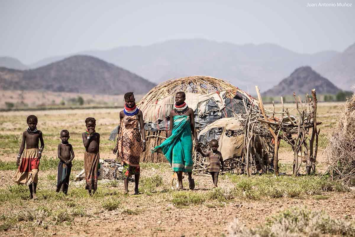 Caminar Turkana Kenia