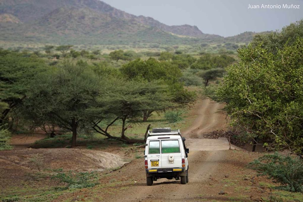 Caminos del Turkana Kenia