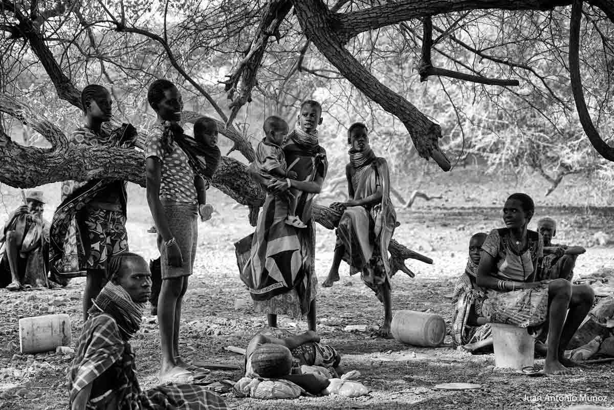 Conversando-en-el-árbol-Kenia
