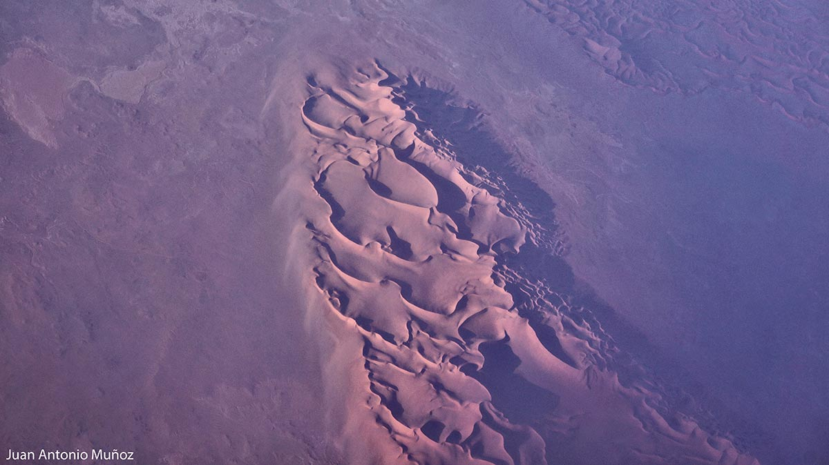 Dunas en el Sahara