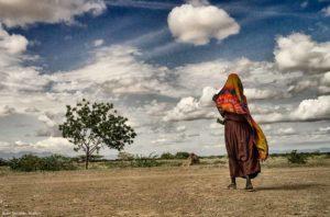 Hacia el poblado Kenia