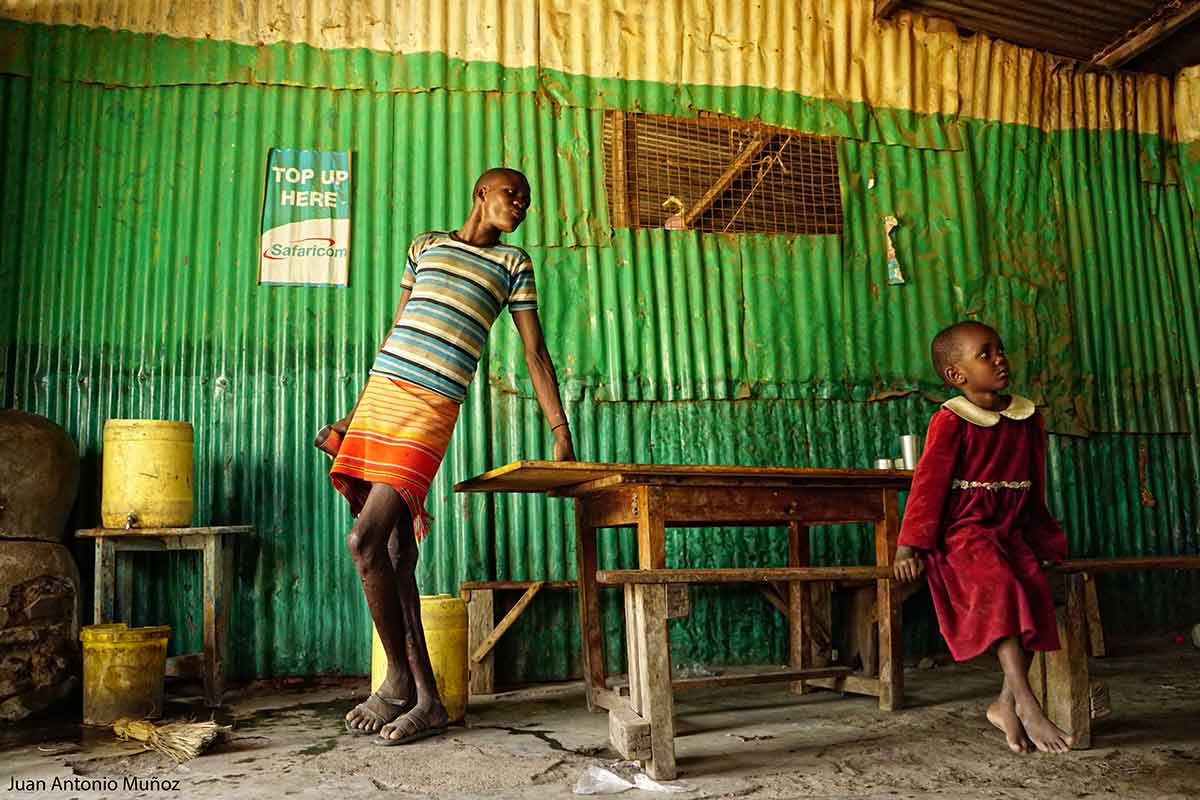 Restaurante turkana Kenia