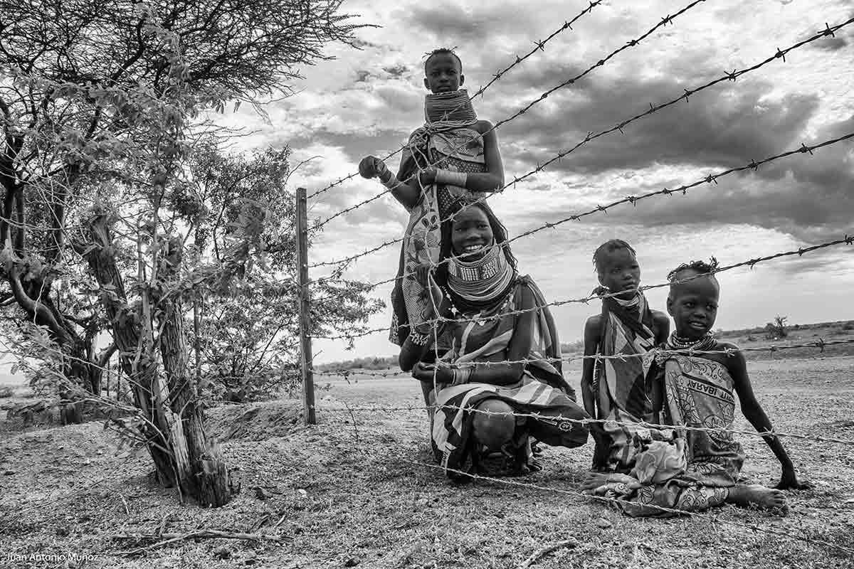 Turkanas en Kokuro Kenia