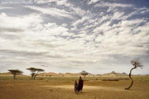 Vida en el desierto Kenia