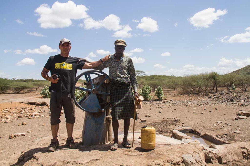 Juan y Turkana pozo Oropoi