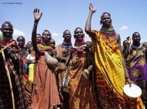 Saludo Turkana Kenia