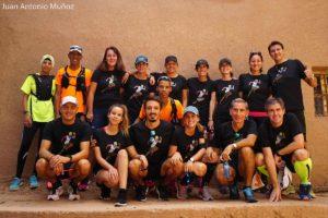 Corredores de la Kasbah del Draa Race Marruecos