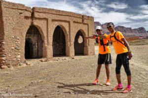 Paso por el morabito de Tafergalt Marruecos