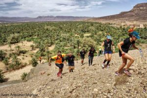 Corriendo en la selva del Draa