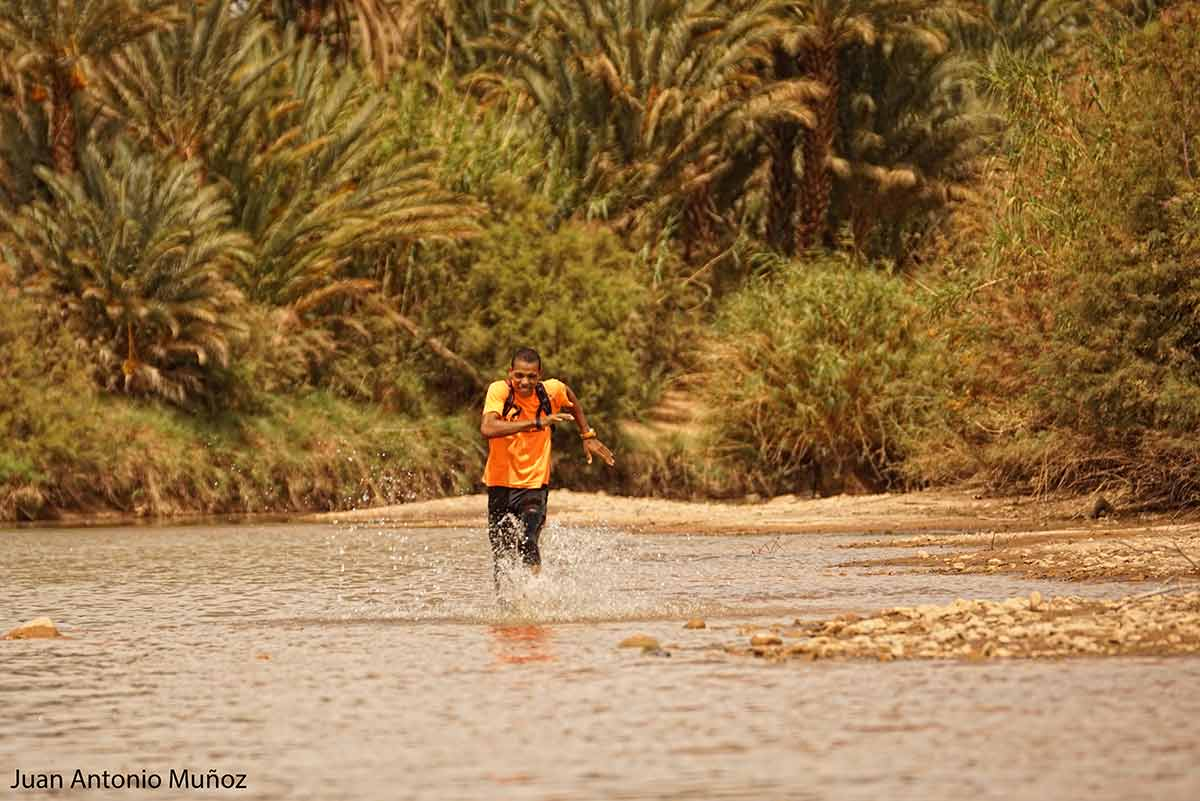Corriendo en el Draa Marruecos