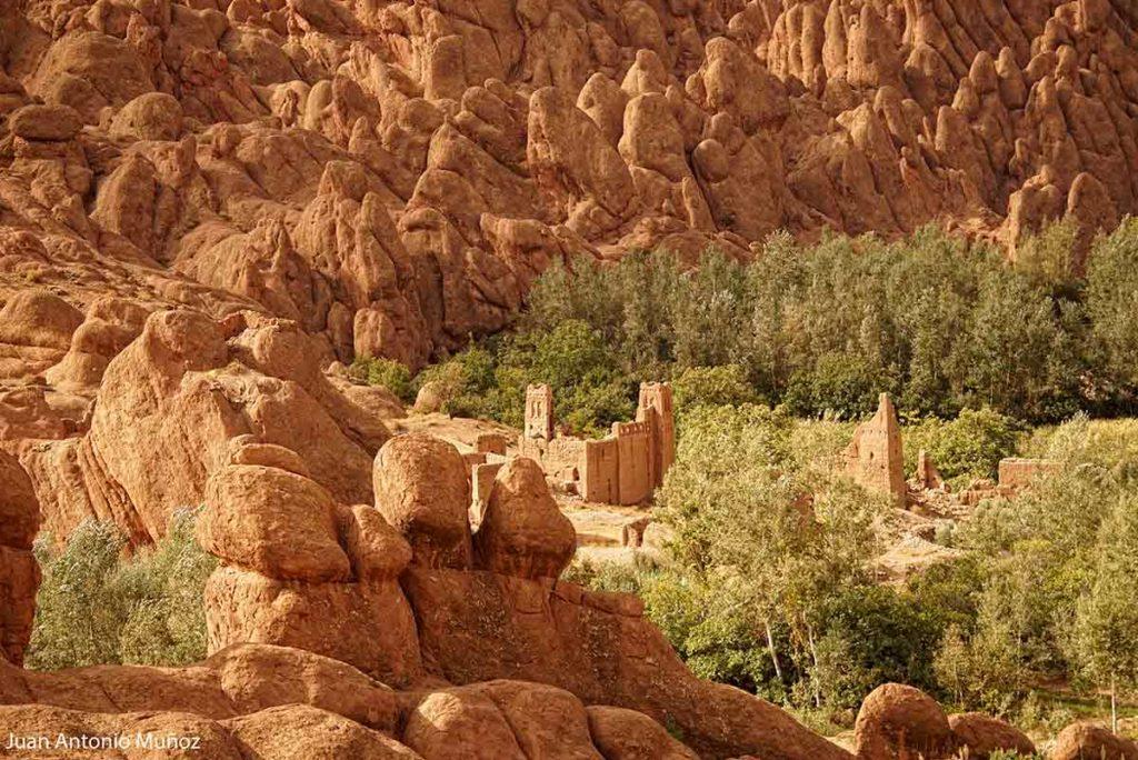 Kasba en el Dades Marruecos