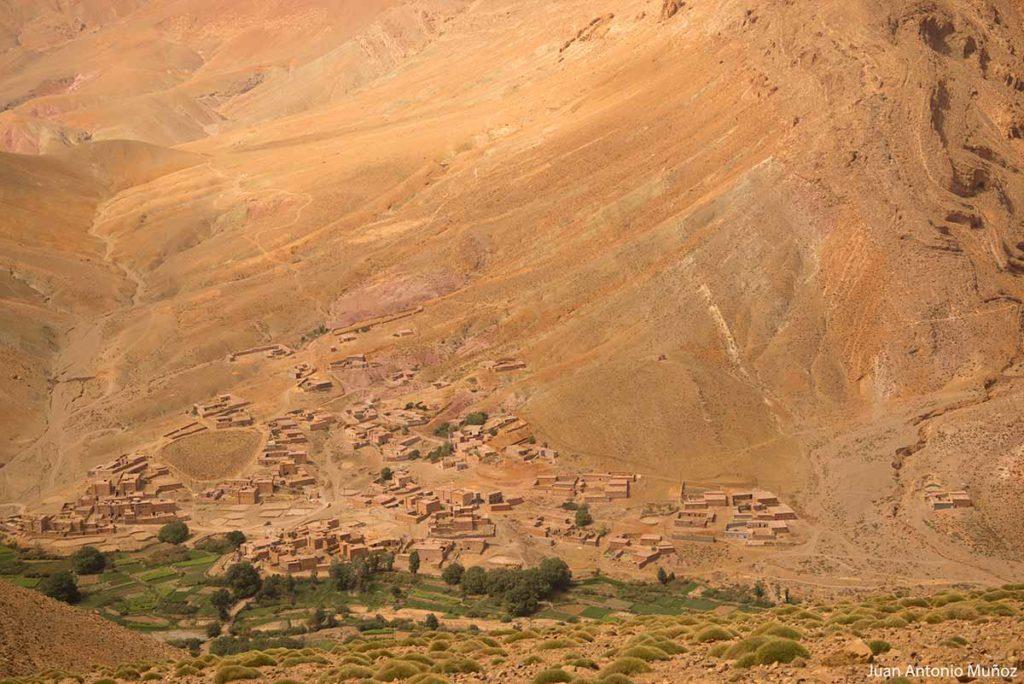 Pueblo Alto Atlas Marruecos