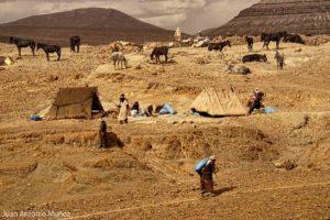 Levantando el campamento Marruecos